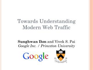 Towards Understanding Modern Web Traffic