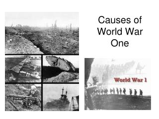 causes of world war one dbq essay