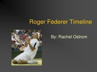 Roger Federer Timeline