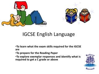 IGCSE English Language