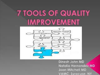 7 TOOLS OF QUALITY IMPROVEMENT