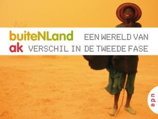 Hoofdstuk 4  Nederland: stedelijke gebieden Paragraaf 1 t/m 4