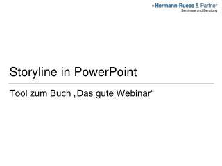 Storyline  in PowerPoint
