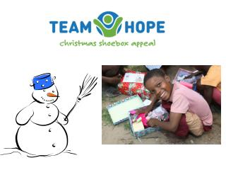 Team Hope is…… an Irish Christian, international development  aid charity