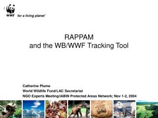 RAPPAM and the WB/WWF Tracking Tool