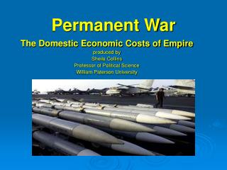 Permanent War The Domestic Economic Costs of Empire
