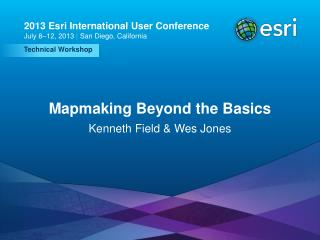 Mapmaking Beyond the Basics