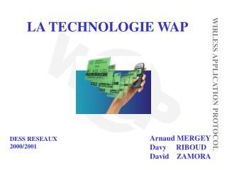 LA TECHNOLOGIE WAP