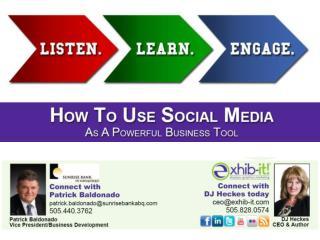 1. What  is Social Media