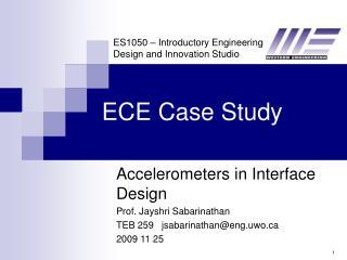 ECE Case Study