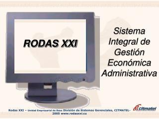 Sistema Integral de Gesti � n Econ � mica Administrativa
