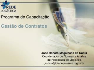 Programa de Capacitação Gestão de Contratos