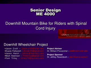 Senior Design ME 4000
