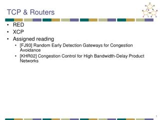 TCP & Routers