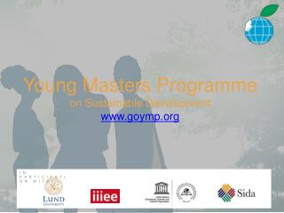 Young  Masters Programme  on  Sustainable  Development goymp