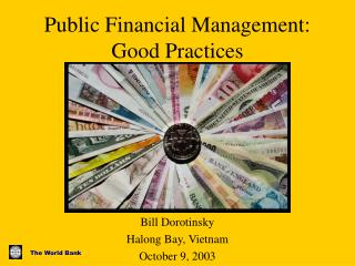 Public Financial Management: Good Practices