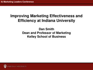 IU Marketing Leaders Conference
