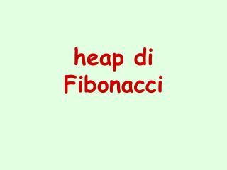 heap di Fibonacci