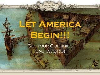 Let America Begin!!!