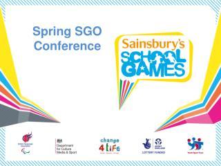 Spring SGO  Conference