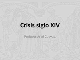 Crisis siglo XIV