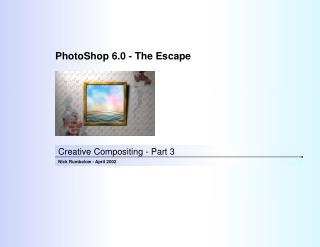 Creative Compositing - Part 3