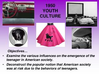 1950 YOUTH  CULTURE