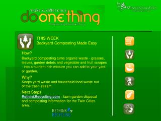 THIS WEEK Backyard Composting Made Easy