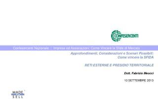 Confesercenti Nazionale  |  Imprese ed Associazioni: Come Vincere le Sfide di Mercato