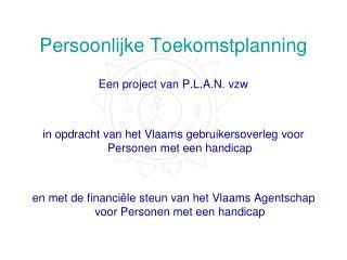 Persoonlijke Toekomstplanning
