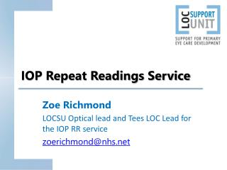 IOP Repeat Readings Service