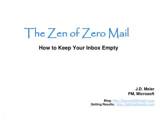 How to Keep Your Inbox Empty
