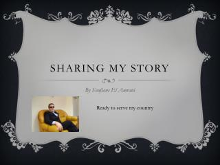 Sharing my story