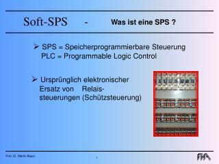 Was ist eine SPS ?