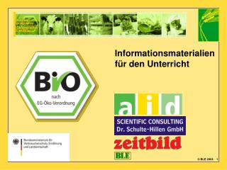 Informationsmaterialien f�r den Unterricht