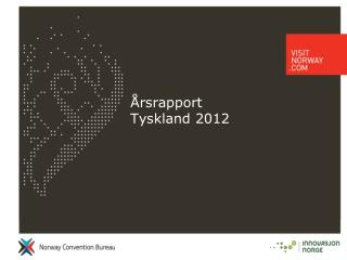 Årsrapport  Tyskland 2012