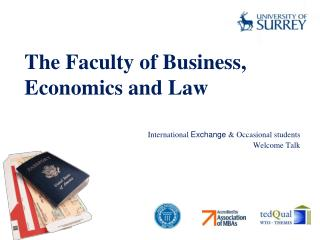 The Faculty of Business, Economics and Law