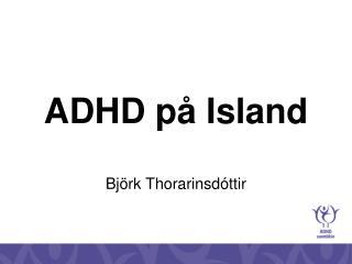 ADHD på Island