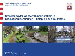 Umsetzung der Wasserrahmenrichtlinie in hessischen Kommunen – Beispiele aus der Praxis
