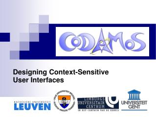 Designing Context-Sensitive User Interfaces
