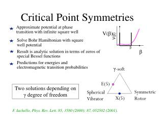 Critical Point Symmetries