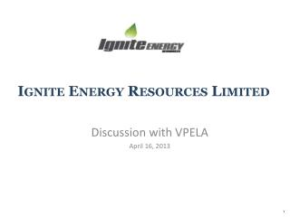Ignite Energy Resources Limited