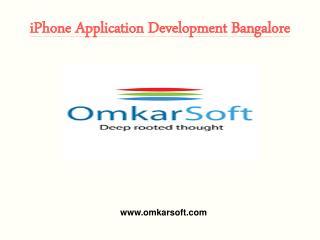 iPhone Application Development Bangalore
