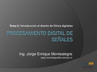 Procesamiento Digital de Se�ales