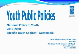 National Policy of Youth   2012-2020 Specific Youth Cabinet - Guatemala