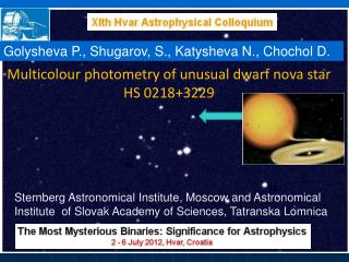 Multicolour photometry of unusual dwarf nova star HS 0218+3229