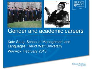 Gender and academic careers