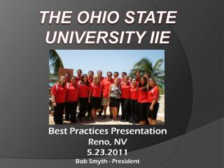 The Ohio State University IIE