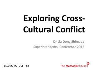 Exploring Cross-Cultural Conflict