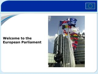 Welcome to the European Parliament
